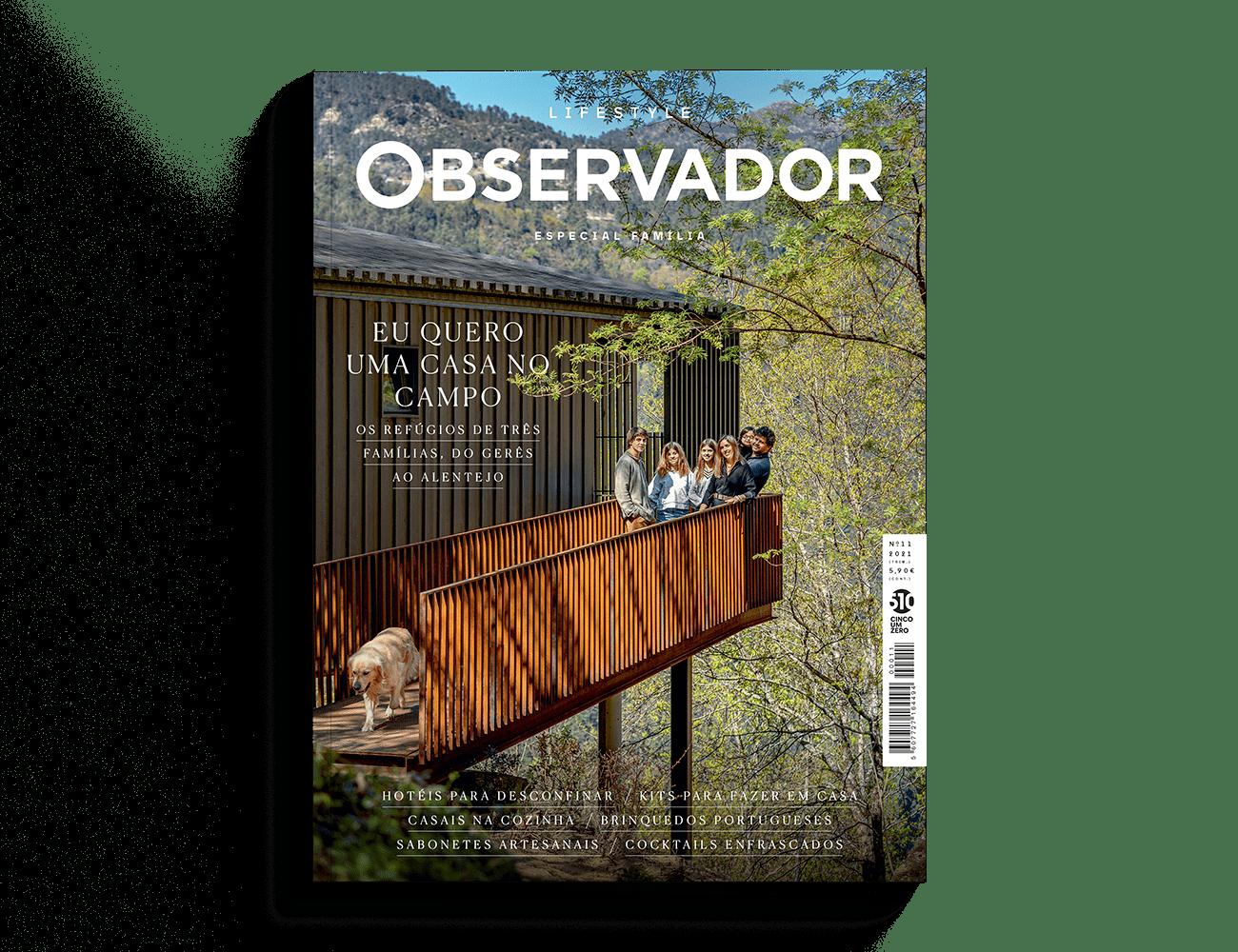 Capa revista Observador Lifestyle nº11